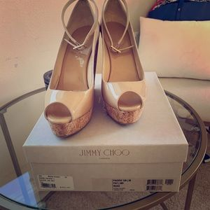 Jimmy Choo Pacific Pat Wedges